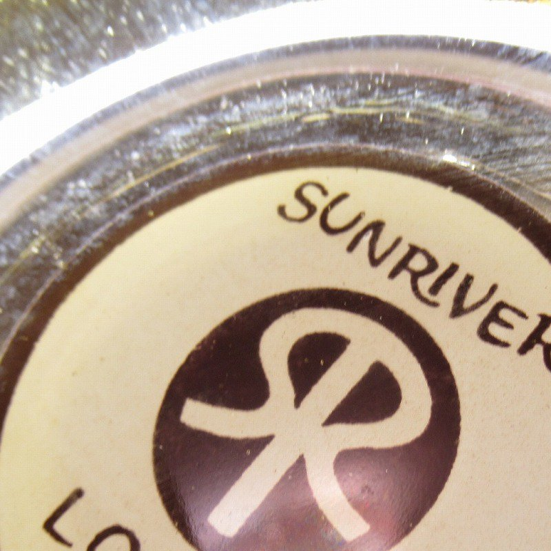 ヴィンテージ 灰皿 Sunriver Lodge アンバーカラー アッシュトレイ【画像6】