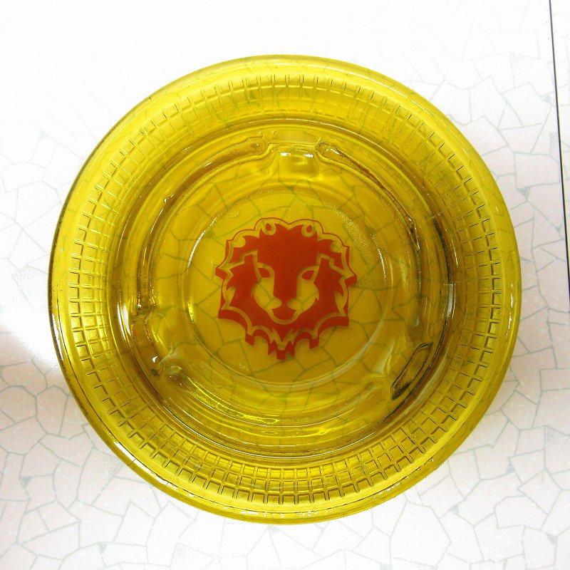 ヴィンテージ 灰皿 Red Lion アンバーカラー アッシュトレイ【画像2】