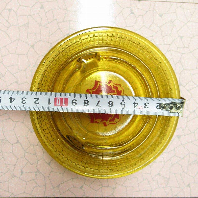 ヴィンテージ 灰皿 Red Lion アンバーカラー アッシュトレイ【画像12】