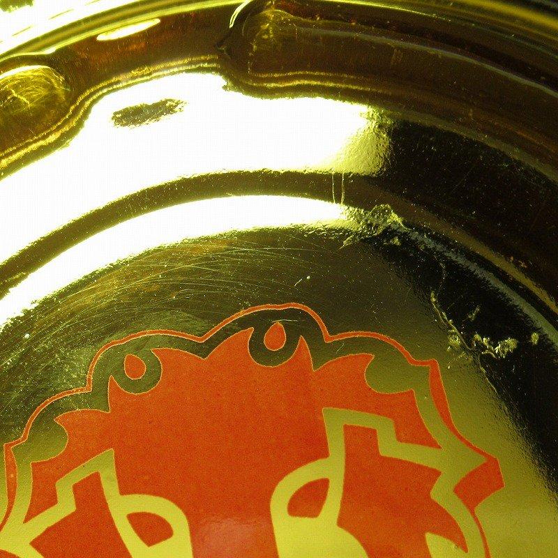 ヴィンテージ 灰皿 Red Lion アンバーカラー アッシュトレイ【画像5】