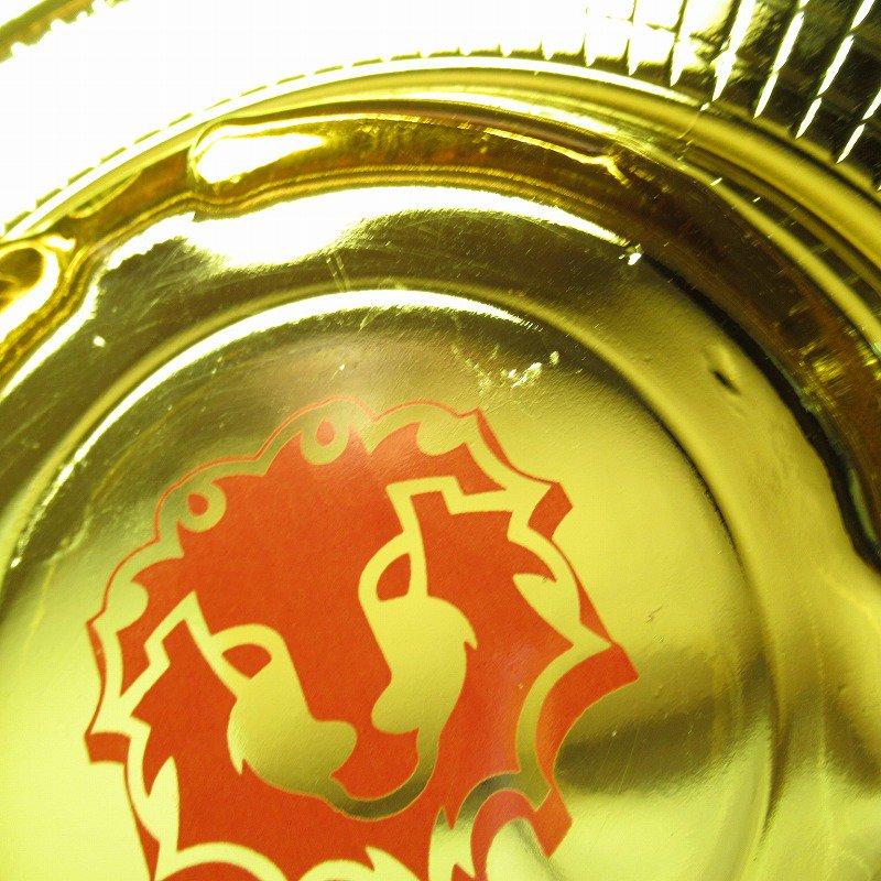 ヴィンテージ 灰皿 Red Lion アンバーカラー アッシュトレイ【画像6】