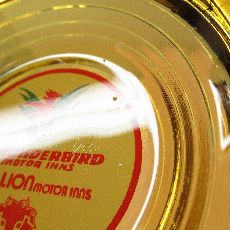 ヴィンテージ 灰皿 Thunderbird by Red Lion アンバーカラー アッシュトレイ【画像7】