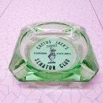 リビング  ヴィンテージ 灰皿 Cactus Jack's グリーンカラー アッシュトレイ