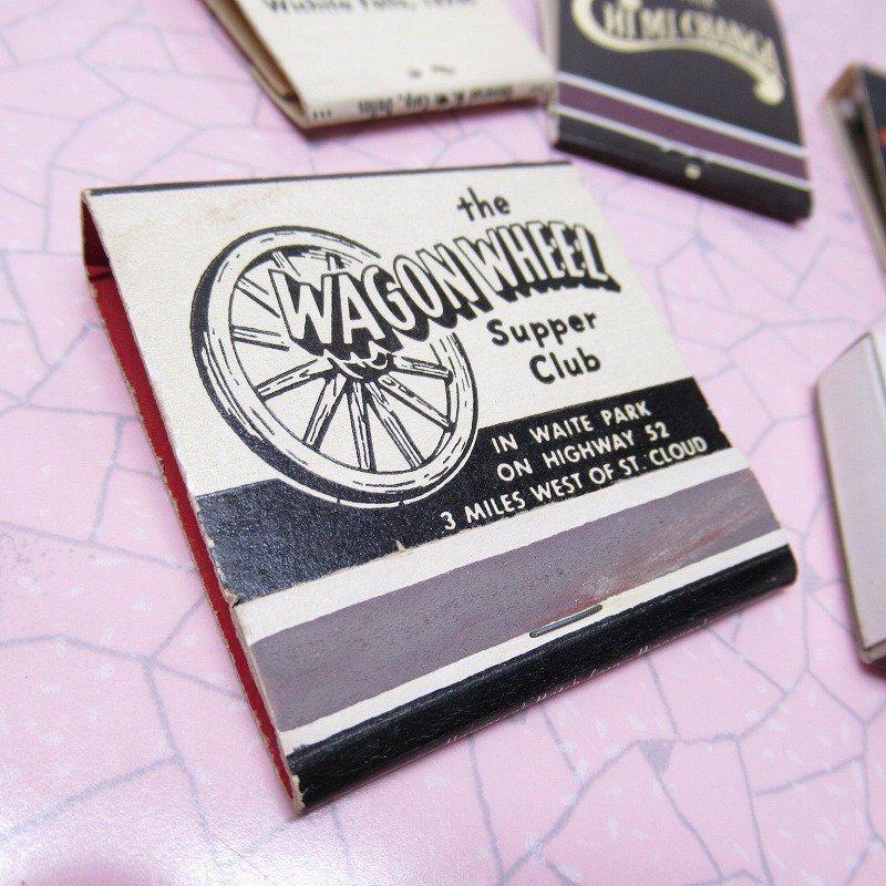 ヴィンテージマッチブック 5個セット 黒 A【画像8】