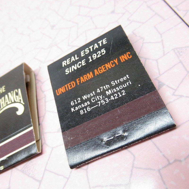 ヴィンテージマッチブック 5個セット 黒 A【画像10】