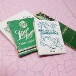 マッチブック  ヴィンテージマッチブック 5個セット 緑 B