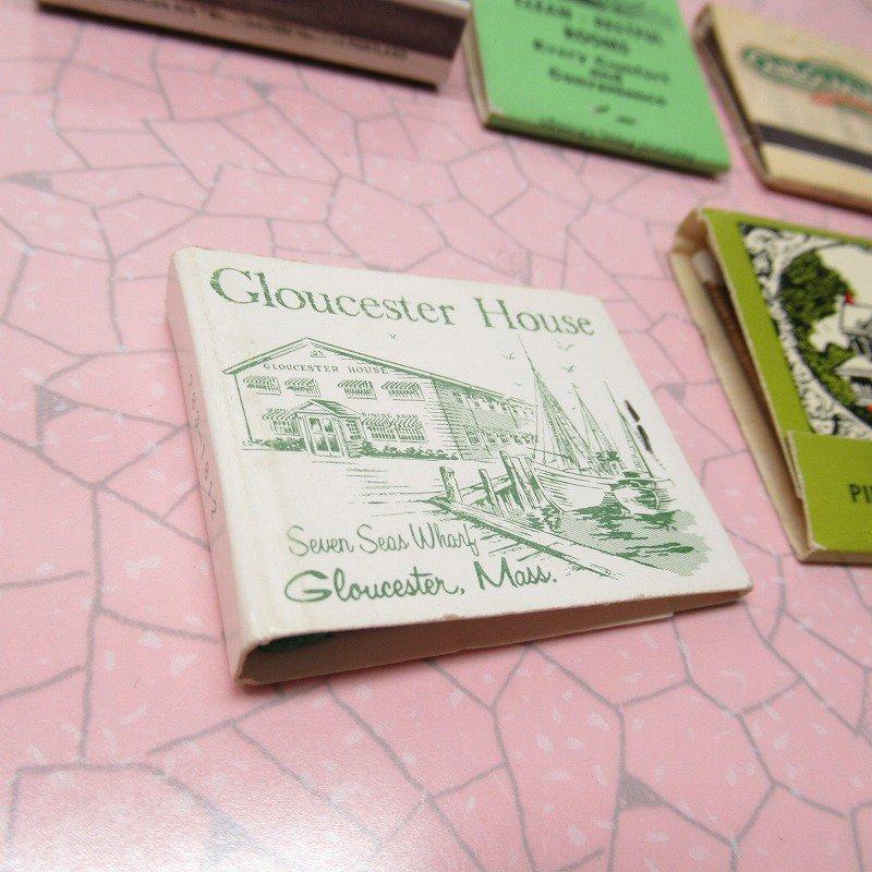 ヴィンテージマッチブック 5個セット 緑 C【画像11】