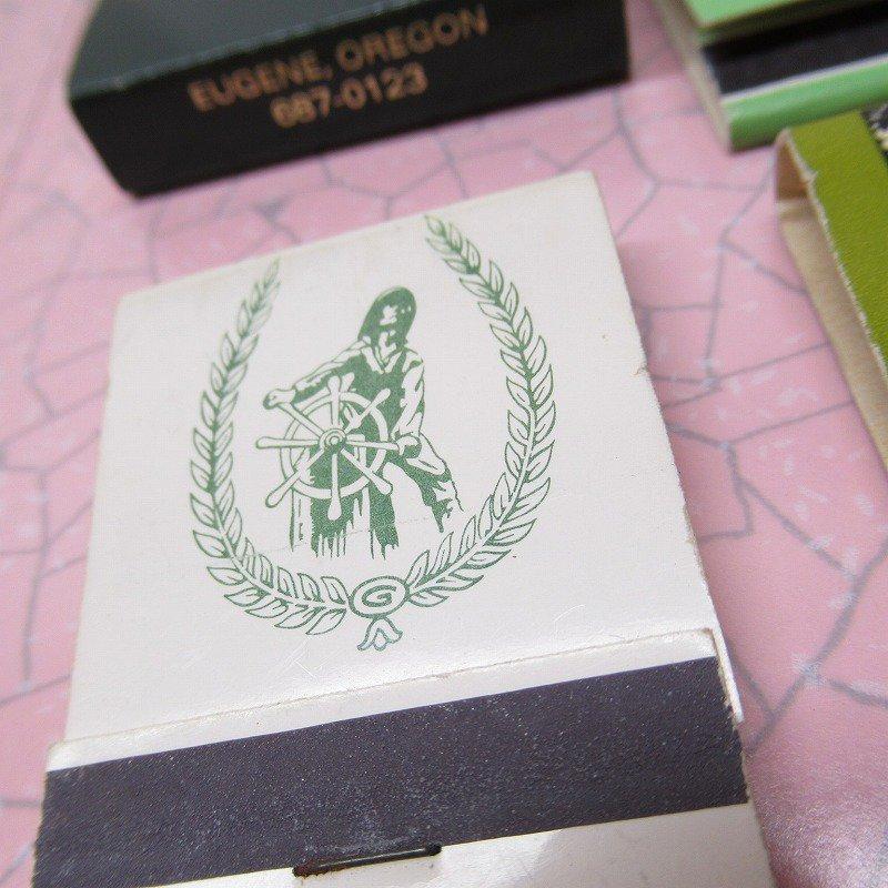 ヴィンテージマッチブック 5個セット 緑 C【画像3】