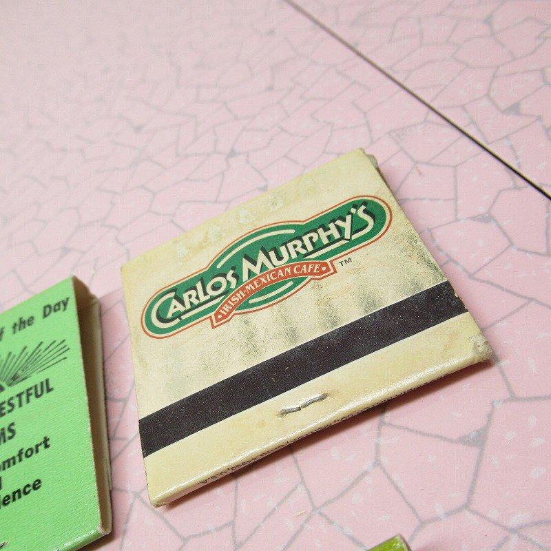 ヴィンテージマッチブック 5個セット 緑 C【画像10】