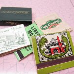 マッチブック  ヴィンテージマッチブック 5個セット 緑 C