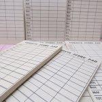 チケット、スコアパッドなどの紙物・紙モノ雑貨  紙モノ雑貨 CANASTA SCORE PAD
