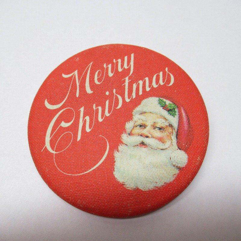 缶バッチ クリスマス サンタ Merry Christmas【画像2】