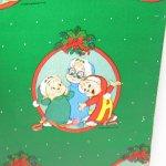 クリスマス ラッピングペーパー アルヴィンとチップマンクス