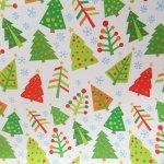 クリスマス ラッピングペーパー クリスマスツリー2枚セット
