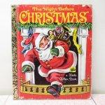 クリスマス絵本  クリスマス絵本 リトルゴールデンブック The night before Christmas