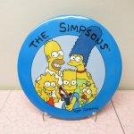 キャラクター  シンプソンズ 特大 缶バッチ バート 1989年 The Simpsons