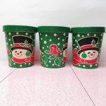 イベント  ホールマーク 1980年代 クリスマス用 鳥と雪だるま 紙製パッケージ