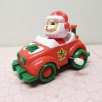 おままごと・お人形遊びアイテム・おもちゃ・ガラガラなど  サンタクロース ミニカー クリスマス ぜんまい トイ