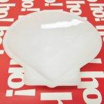 グラスベイク  グラスベイク スカロップ型 白 キャンディディッシュ A