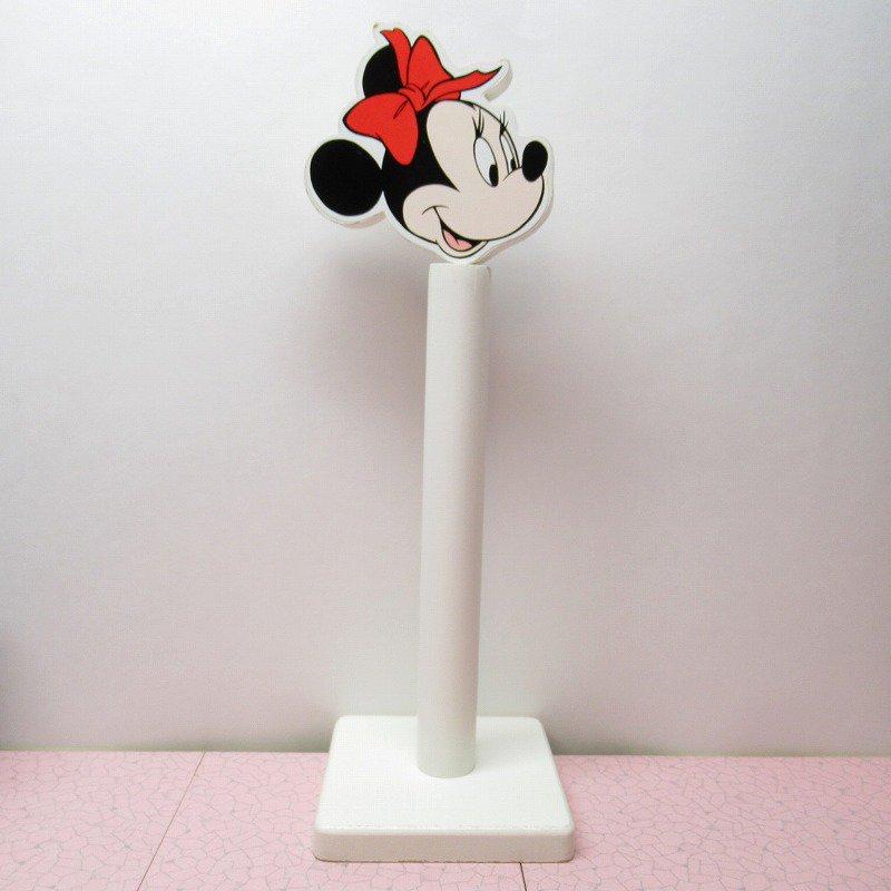 ミッキーマウス ミニー キッチンペーパーホルダー