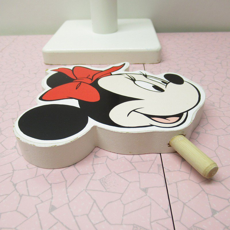 ミッキーマウス ミニー キッチンペーパーホルダー【画像5】