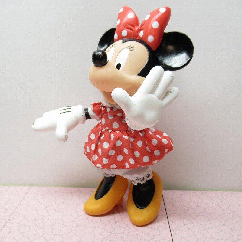 ミッキーマウス ミニー プラスチック製ドール