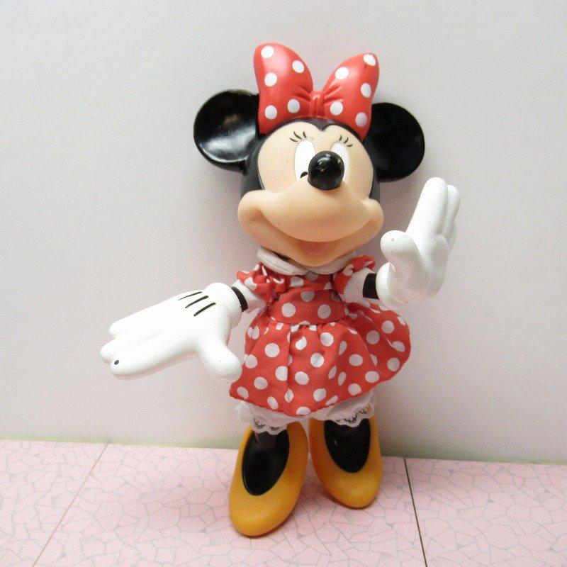 ミッキーマウス ミニー プラスチック製ドール【画像2】