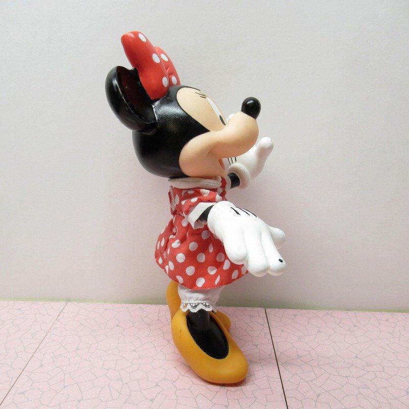 ミッキーマウス ミニー プラスチック製ドール【画像3】