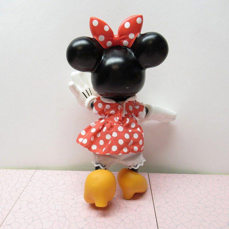 ミッキーマウス ミニー プラスチック製ドール【画像4】