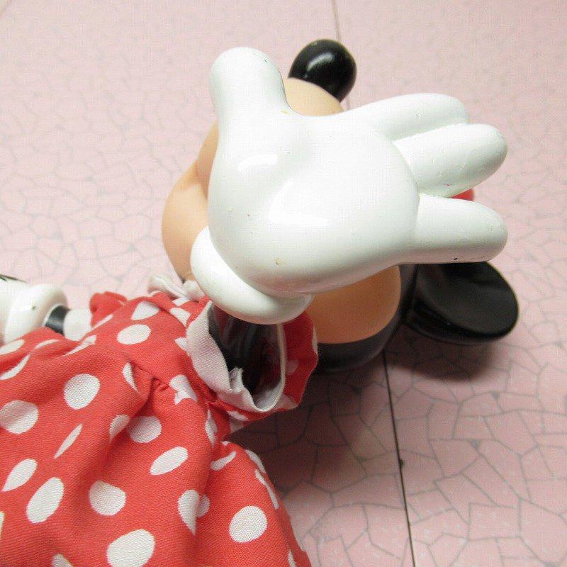 ミッキーマウス ミニー プラスチック製ドール【画像7】