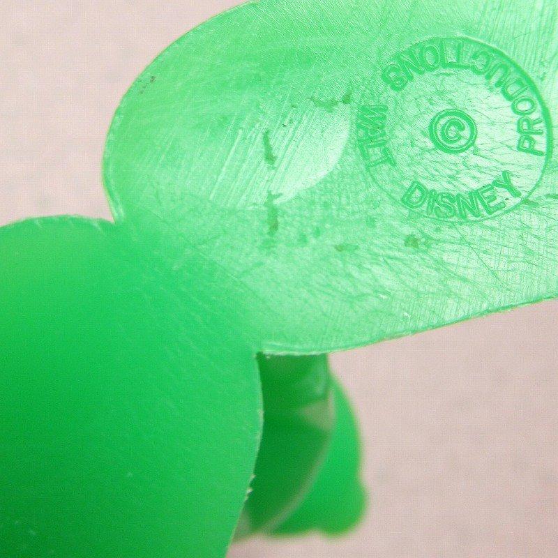 ミッキーマウス 1978年 PVCフィギュア 緑【画像9】