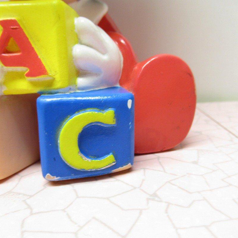 ミッキーマウス ベビーミッキー ABCブロック ソフビドール【画像2】