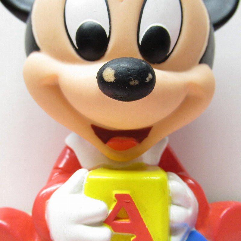 ミッキーマウス ベビーミッキー ABCブロック ソフビドール【画像3】