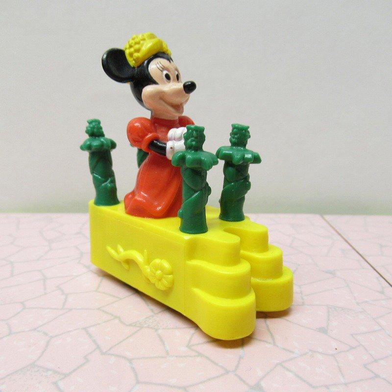 ミッキーマウス ミニー バーガーキング ミールトイ ぜんまい ミニカー