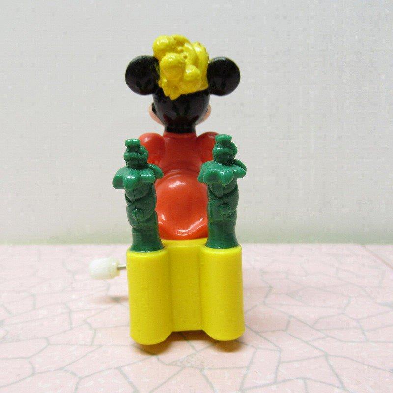 ミッキーマウス ミニー バーガーキング ミールトイ ぜんまい ミニカー【画像3】