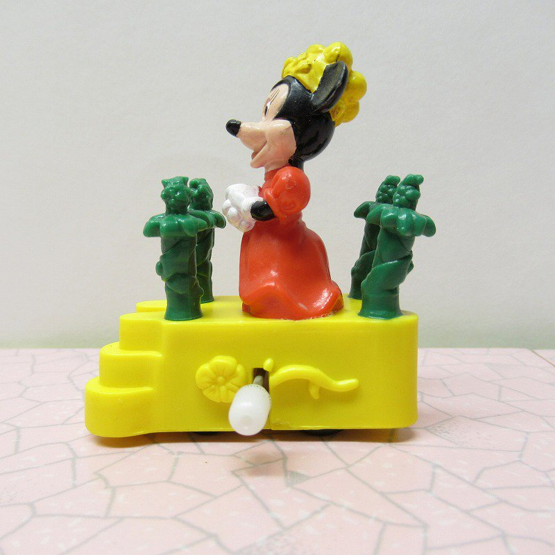 ミッキーマウス ミニー バーガーキング ミールトイ ぜんまい ミニカー【画像4】