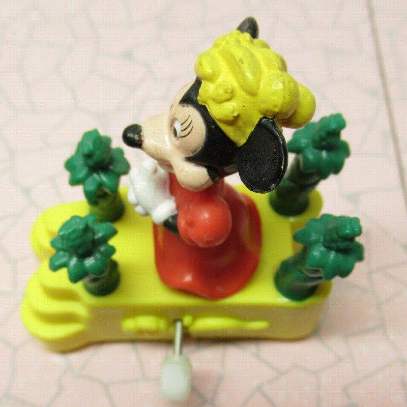 ミッキーマウス ミニー バーガーキング ミールトイ ぜんまい ミニカー【画像7】