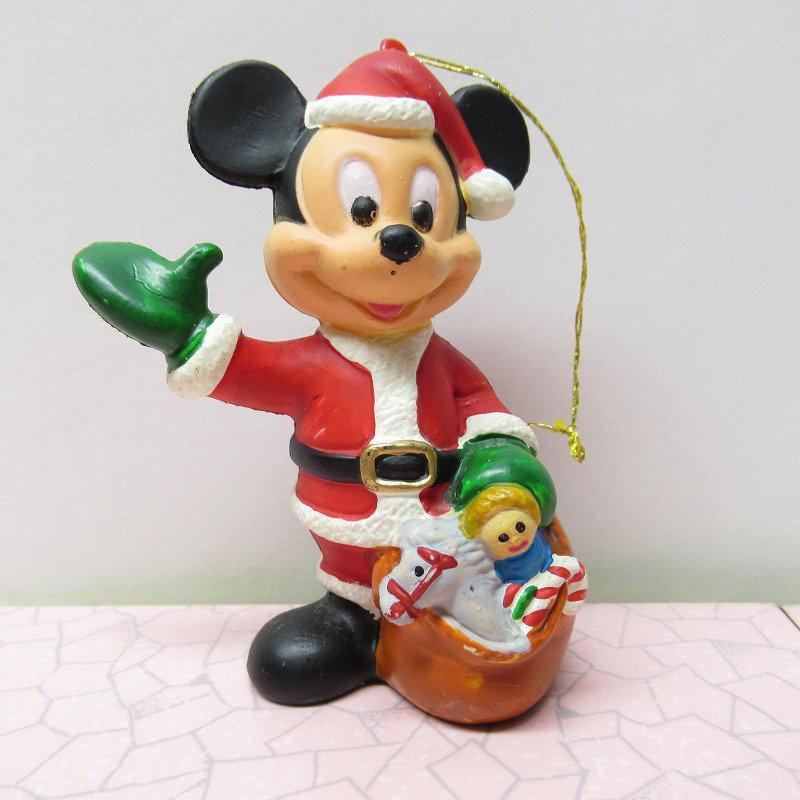 ミッキーマウス サンタクロース クリスマス オーナメント