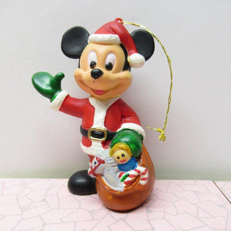 ミッキーマウス サンタクロース クリスマス オーナメント【画像2】