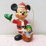 ツリーにつけるオーナメント  ミッキーマウス サンタクロース クリスマス オーナメント