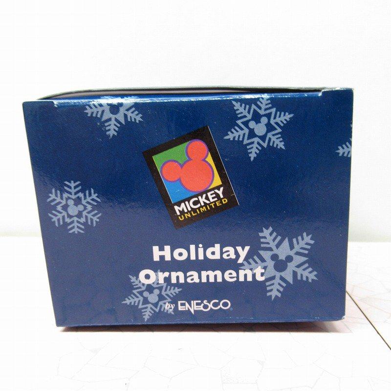 ミッキーマウス 箱付 クリスマス オーナメント サンタ と プレゼントリスト【画像15】