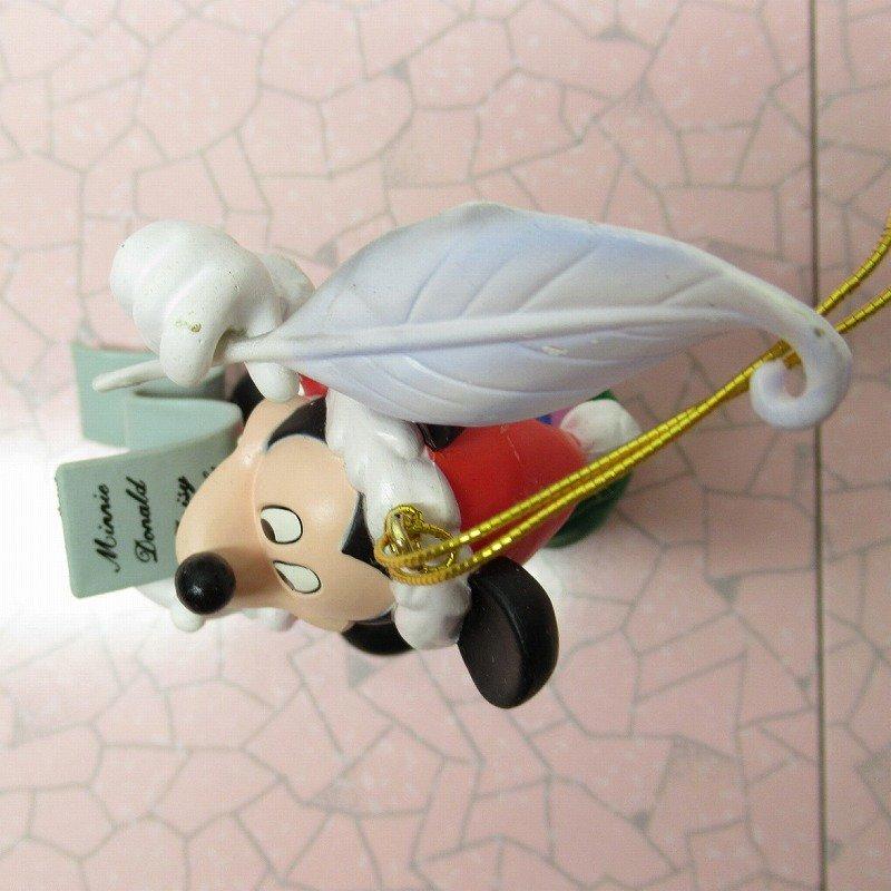 ミッキーマウス 箱付 クリスマス オーナメント サンタ と プレゼントリスト【画像7】