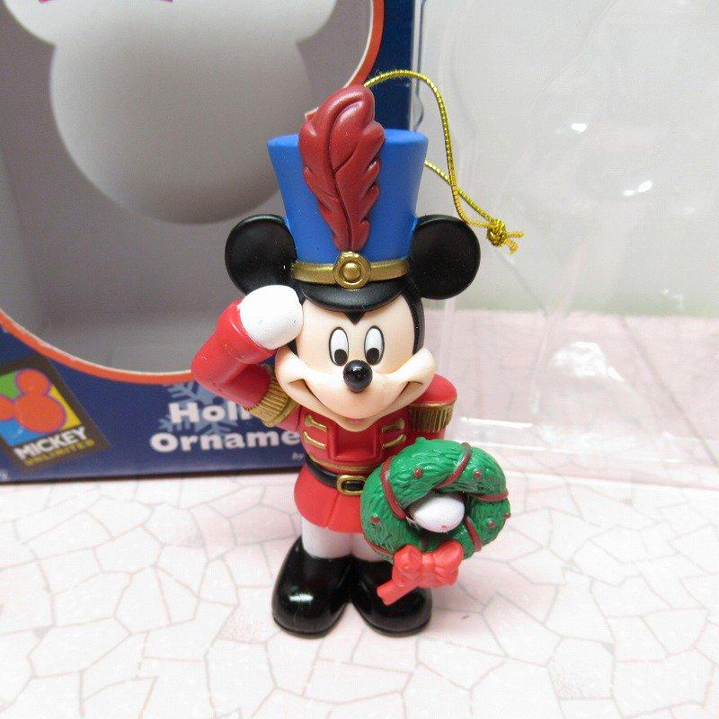 ミッキーマウス 箱付 クリスマス オーナメント マーチ と リース【画像2】