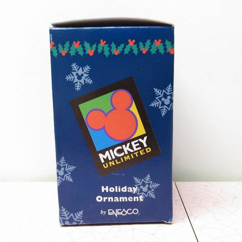 ミッキーマウス 箱付 クリスマス オーナメント マーチ と リース【画像11】