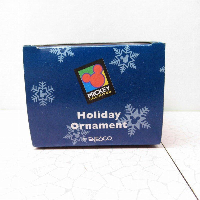 ミッキーマウス 箱付 クリスマス オーナメント マーチ と リース【画像12】