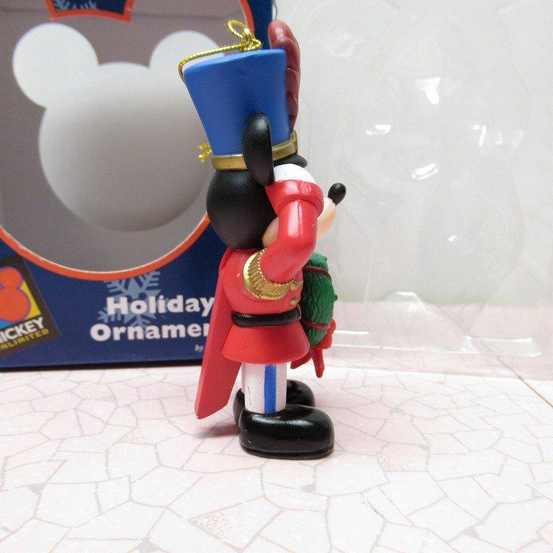 ミッキーマウス 箱付 クリスマス オーナメント マーチ と リース【画像3】