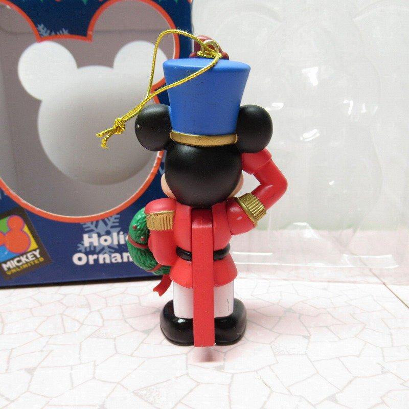 ミッキーマウス 箱付 クリスマス オーナメント マーチ と リース【画像4】