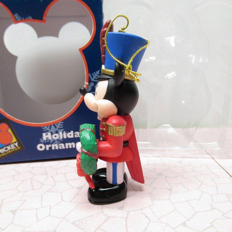 ミッキーマウス 箱付 クリスマス オーナメント マーチ と リース【画像5】