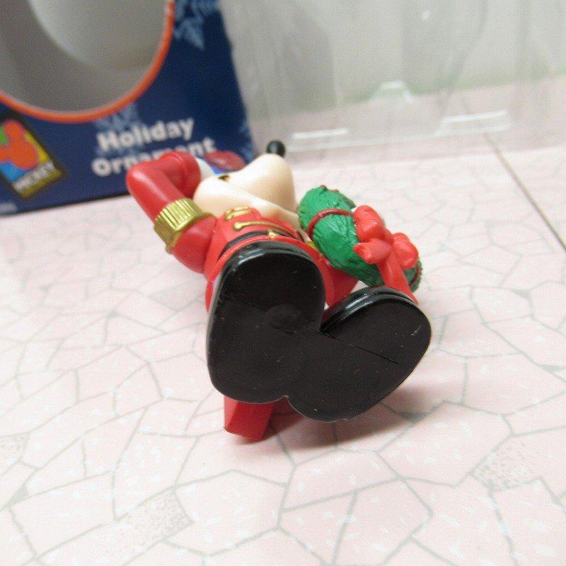 ミッキーマウス 箱付 クリスマス オーナメント マーチ と リース【画像6】