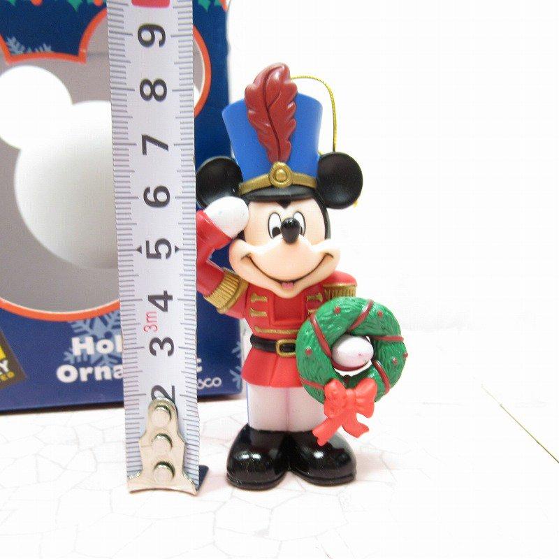 ミッキーマウス 箱付 クリスマス オーナメント マーチ と リース【画像7】
